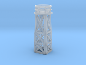 1/144 Scale Search Light Tower in Smooth Fine Detail Plastic