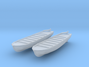 1/144 Scale USN Life Boats in Smooth Fine Detail Plastic