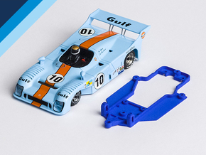 1/32 Avant Slot Mirage GR8 Chassis for Slot.it pod in Blue Strong & Flexible Polished