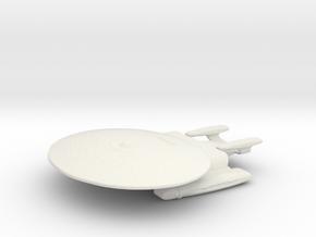 Prototype Nebula Class in White Natural Versatile Plastic