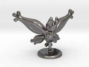 Shiny Mothim in Polished Nickel Steel