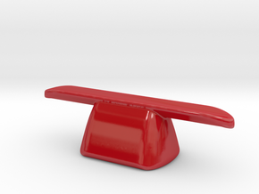 pen rest The Nibopedic X1 porcelain in Gloss Red Porcelain