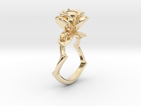 A Bewitching in 14k Gold Plated Brass