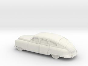 1/87 1949-50 Nash Ambassador Sedan in White Strong & Flexible