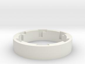 ESB Grip Guide Lock Version B-92mm in White Natural Versatile Plastic