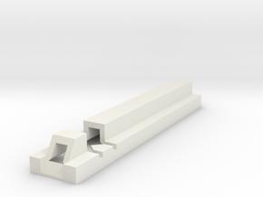 Wannawanga Grip Cutting Guide-2.0 Accurate in White Natural Versatile Plastic