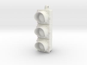 Custom Sharpie Cap -- Traffic light in White Natural Versatile Plastic