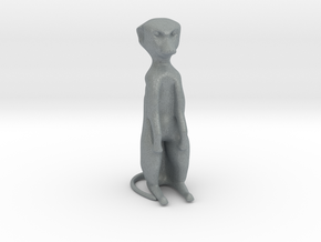 Meerkat Desktoy in Polished Metallic Plastic