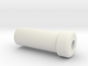 Ferrule Cap in White Natural Versatile Plastic