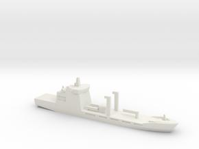 Pakistan Navy Fleet Tanker (PNFT), 1/3000 in White Natural Versatile Plastic