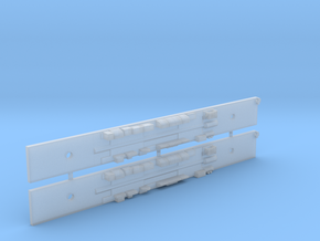 NCC1 - Comeng M Car Chassis Set - N Scale in Smooth Fine Detail Plastic