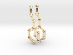 Phenethylamine in 14K Yellow Gold