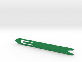 Net making Needle in Green Processed Versatile Plastic: Large