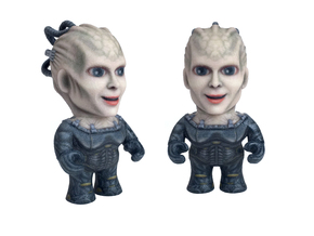 Borg Queen Star Trek Caricature in Full Color Sandstone