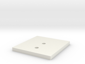 LPA NN-14 Front Backer Plate in White Strong & Flexible