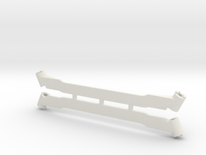 Subchassis V7 Rails in White Natural Versatile Plastic