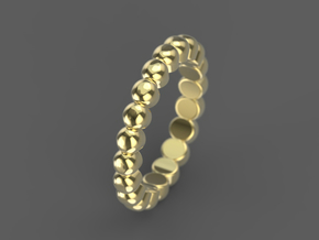 "Stackable ""Bubbles"" Ring in 14K Yellow Gold: 6 / 51.5"