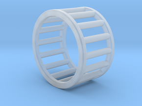 Albaro Ring Size-4 in Smooth Fine Detail Plastic