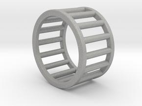 Albaro Ring Size-4 in Aluminum