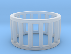 Albaro Ring Size-5 in Smooth Fine Detail Plastic