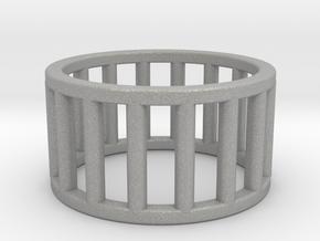 Albaro Ring Size-5 in Aluminum