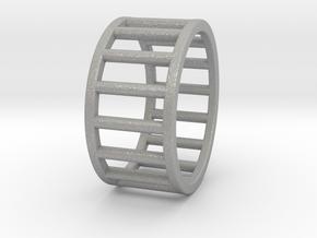 Albaro Ring Size-7 in Aluminum