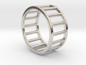 Albaro Ring- Size,8 in Platinum