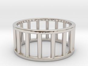 Albaro Ring- Size,9 in Platinum