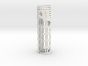 PDW-I2-01 - Padawan I2 & 18650 battery V1 in White Natural Versatile Plastic