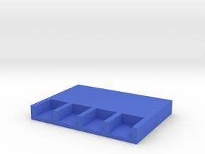 ChargingBaseV2 in Blue Processed Versatile Plastic