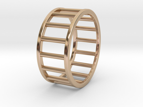 Albaro Ring Size-11 in 14k Rose Gold