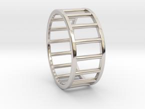 Albaro Ring- Size, 12 in Platinum