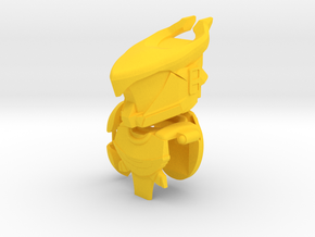 Golden Bull Gear Set in Yellow Strong & Flexible Polished