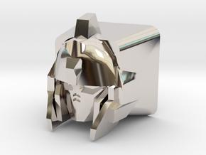 Unicorn Gundam Cherry MX Keycap (No Horns) in Platinum
