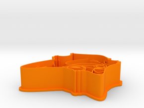 Zootopia's Nick Cookie Cutter in Orange Processed Versatile Plastic