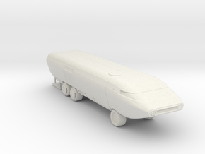 Ark II Mobile Laboratory, Multiple Scales in White Natural Versatile Plastic: 1:87