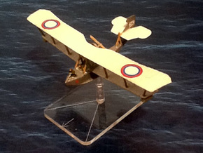 Grigorovich M-9 Flying Boat (various scales) in Gray PA12: 1:144