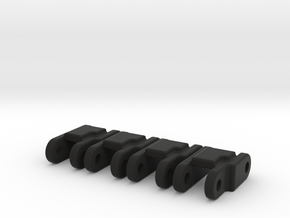 Shackles For Leaf Spring 4x in Black Natural Versatile Plastic
