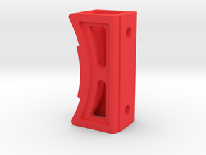 Open 5.00 Support Esparts Pied in Red Processed Versatile Plastic