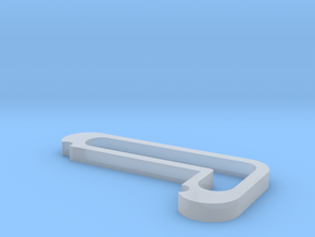 Spot Holder in Smooth Fine Detail Plastic