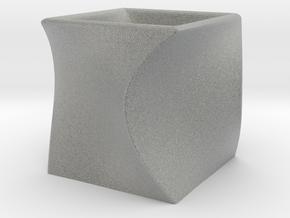 Binary cups in Metallic Plastic