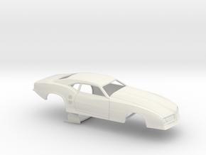 1/24 68 Firebird Pro Mod No Scoop in White Natural Versatile Plastic