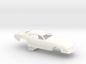1/32 68 Firebird Pro Mod No Scoop in White Processed Versatile Plastic