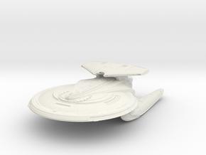 Lourenco Class BattleCruiser in White Natural Versatile Plastic