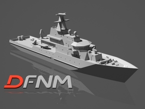 River class OPV Batch 1 in White Natural Versatile Plastic: 1:700