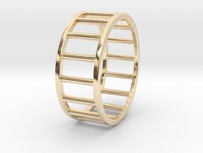 Albaro Ring Size-13 in 14K Yellow Gold