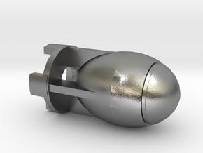Fatman Bomb in Natural Silver