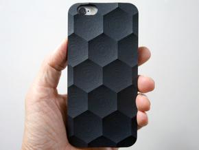 iphone 6/6s Case_Hexagon in Black Strong & Flexible