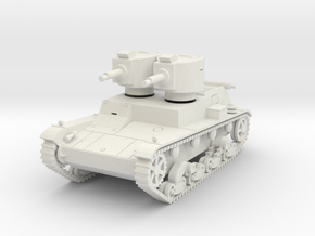 PV140 7TP Dual Turret (1/48) in White Natural Versatile Plastic