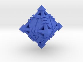 D8 - Andrew Bell 3d - Design1 in Blue Processed Versatile Plastic